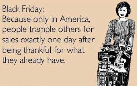 Black Friday: blessing or curse?
