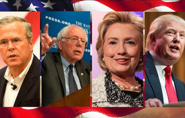 Jeb Bush, Bernie Sanders, Hillary Clinton and Donald Trump are just a handful of the candidates hoping to run in the 2016 presidential election.