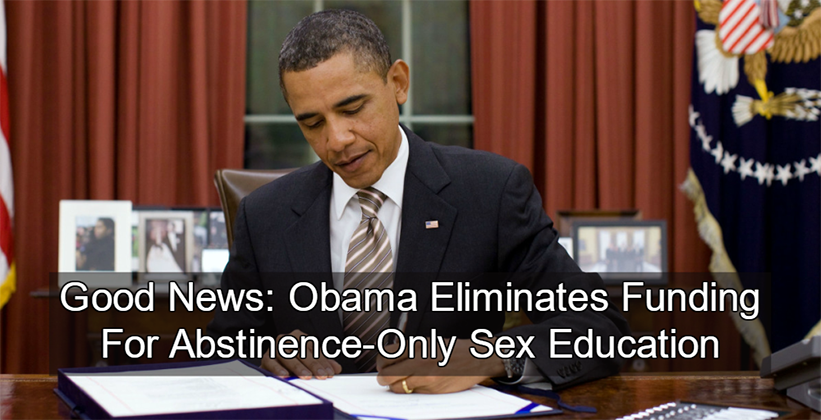 The Colt staff supports President Obama's proposal to cut funds to abstinence-only sex education.
