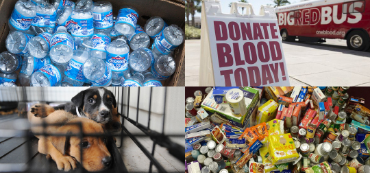 Ways even students can help hurricane victims