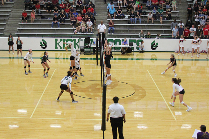 The Lady Colts took on Martin during district play.