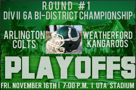 Undefeated Colts take on Weatherford in first playoff game