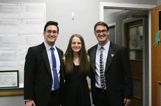 In a surprise twist, three students named Fielder Award recipients