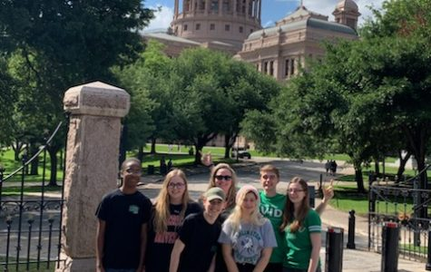 UIL Social Studies team competes at State for first time in team's history