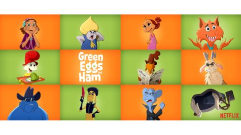 "Netflix released a cartoon series based on the iconic Dr. Seuss book ""Green Eggs and Ham""."